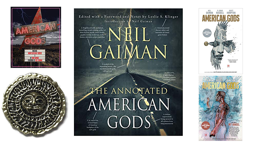 WIN the Ultimate #American Gods Collection! #amwatching